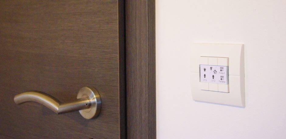 Interrupteur avec sonde de température