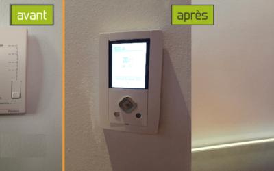 Gestion intelligente du chauffage, Pilotage par Smartphone – KNX & EnOcean, Nancy (54000 – Meurthe et Moselle)